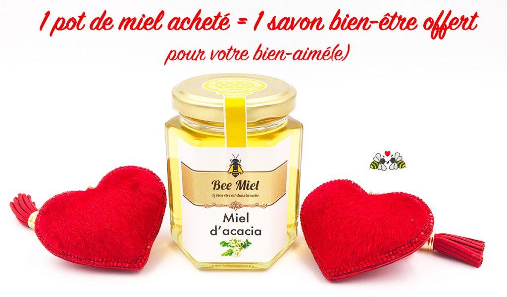 offre miel saint valentin