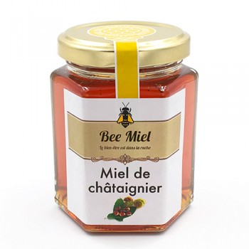 pot 230g miel châtaignier de france