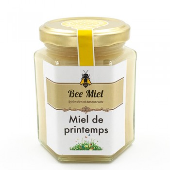 pot 230g miel de printemps de france